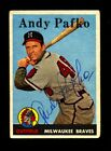 Andy Pafko Cards and Autograph Memorabilia Guide 44