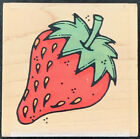 Whipper Snapper Summer Strawberry Rubber Stamp N095