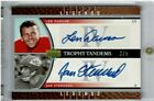 2006 Upper Deck Football Legends Len Dawson Jan Stenerud Dual-Auto Card SSP #2 5