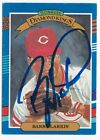 Authenticated Barry Larkin Autograph On A 1990 Donruss DK - Cincinnati Reds