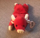 TY Beanie Baby Retired - Snort The Red Bull - May 5th, 1995 *RARE* NEW