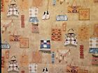 Native American Indian Print Sewing Craft Project Fabric 6 Yards X 44 NEW