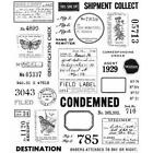 Tim Holtz Cling Rubber Stamps Field Notes CMS396