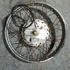 1980 Honda CM200T CM200 Twinstar front wheel rim axle brake plate speedo cable