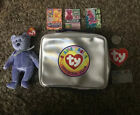 Clubby II BEANIE BABY with Errors And Collectors Kit Case Cards Coin Rare