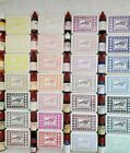 Stampin Up Old Style Stamp Pads With Re inkers in Current and Retired Colors