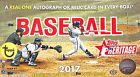 2017 Topps Heritage Baseball Sealed Hobby Box 24 packs per box 9 cards per pack