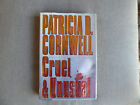 CRUEL  UNUSUAL by PATRICIA D CORNWELL SIGNED  FIRST EDITION