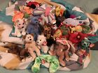 Huge Ty Beanie Babies Lot Of 18 Hobo Courage Crooner Flitter Lucky And More