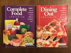 WEIGHT WATCHERS Winning Points Complete Food  Dining Out Companion Books 2003