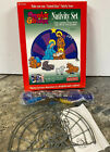 Vtg Makit Bakit Kit Nativity Set Christmas New stained glass Make it Bake it