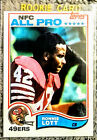 Ronnie Lott Cards, Rookie Card and Autographed Memorabilia Guide 12