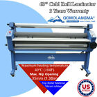 Us Stock Qomolangma 63in Full-auto Wide Format Cold Laminator-trimmers Optional
