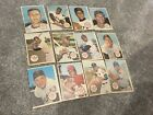 Lot Of 12 1967 Topps Poster Pin Ups Partial Set No Dupes Strong Condition HOF