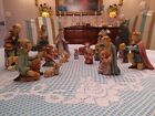 HUMMEL Goebel 18 PC Christmas NATIVITY SET 214 large perfect condition