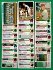 1973 Topps Baseball Cleveland Indians team set lot Perry Bell