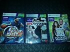 NBA Baller UFC Trainer and Biggest Loser Kinect Games Xbox 360 3 Game Lot