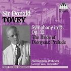 Tovey - Symphony in D, Op 32 The Bride of Dionysus Prelude