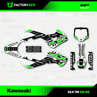 KLX110 Green Shift Graphics fits 00-09 Kawasaki KLX 110 Graphic Kit Sticker