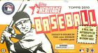 2010 Topps Heritage Baseball Sealed Hobby Box