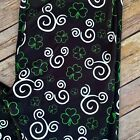 Mickey Minnie Mouse Clover St Patricks Day Womens Leggings Plus Size TC 12 20