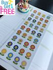 PP457 Flowers Date Covers Life Planner Stickers for Erin Condren
