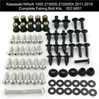 For Kawasaki Ninja1000 Z1000S Z1000SX 11-19 Fairing Bolts Kit Bodywork Screws