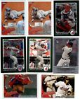8 All different 2010 CARLOS SANTANA RC Lot includes 4 Chrome RCs Indians