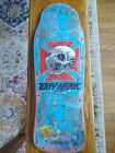 Vintage Tony Hawk Skateboard and VHS Videos.