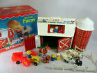 Vintage 1977 Fisher Price Little People Play Family Farm no 915 complete w box
