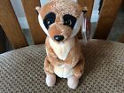 "TY Beanie Baby ""BURROWS"" the Meercat 2010 - 6.5 inches"