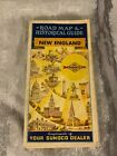 VINTAGE NEW ENGLAND ROAD MAP & HISTORICAL GUIDE SUNOCO GAS OILS