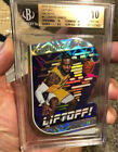 2018 19 REVOLUTION LEBRON JAMES GALACTIC LIFT OFF DIE CUT BGS 10 IMPOSSIBLE