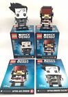 Lego Brickheadz Captain Jack Sparrow And Captain Armando Salazar 41593 41594