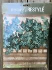 2 Restore  restyle decorative wall paper border green ivy 9 Inch x 15 ft