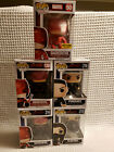 Funko POP Marvel DareDevil Set Lot Punisher Elektra Exclusive