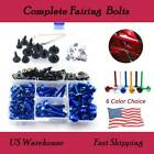 Motorcycle Sportbike Complete Fairing Bolts For Yamaha FJR1300 2003-2005