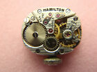 Vintage Hamilton Watch Movement 757 - 22 Jewel with Crown Dial Manual Wind