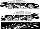 Race Car Side Wrap Laminated Print 102 Late Model Super Stock Street Stock Imca