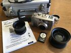 Canon PowerShot G2 4.0MP Digital Camera With Extra Wide Angle Lens and Case