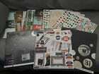 OVER 250 Sheets 12x12 Scrapbook Paper Over 11 lbs Mixed Lot Hoiiday +