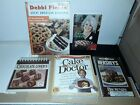 5 Cookbooks BRAND NEW FACTORY SEALED Desserts incl chocolate lovers Brownies