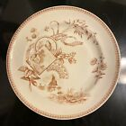 Antique English New Wharf Pottery Aesthetic Movement TENNYSON Transfer 9 Plate