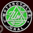 URAL MOTORCYCLES EMBROIDERED PATCH ~3-1/8