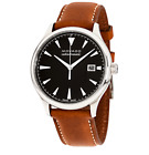 MOVADO Herritage Swiss AUTOMATIC w/Date Black Dial Sapphire Crystal Men's Watch