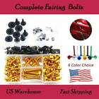 Motorcycle Sportbike Complete Fairing Bolts Aluminum For BMW HP2 2005-2010