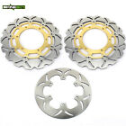 For Yamaha FJR1300 04-13 /ABS 03-18 Front Rear Brake Discs Rotors FJR 1300 AE AS