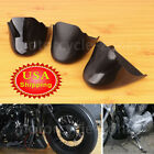 US Black Front Spoiler Chin Fairing For Harley Sportster 883 XL883 Custom XL883C
