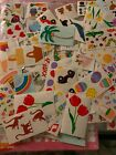 Vintage Mrs Grossmans Lot Mods Random stickers Variety Happy Mail 15 Count