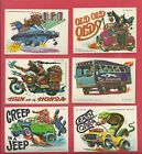 1980 Topps Weird Wheels Trading Cards 37